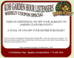 KOH Weekly Listener Coupon