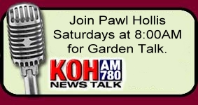 Join us for Garden Talk on KOH Radio Saturdays at 9am